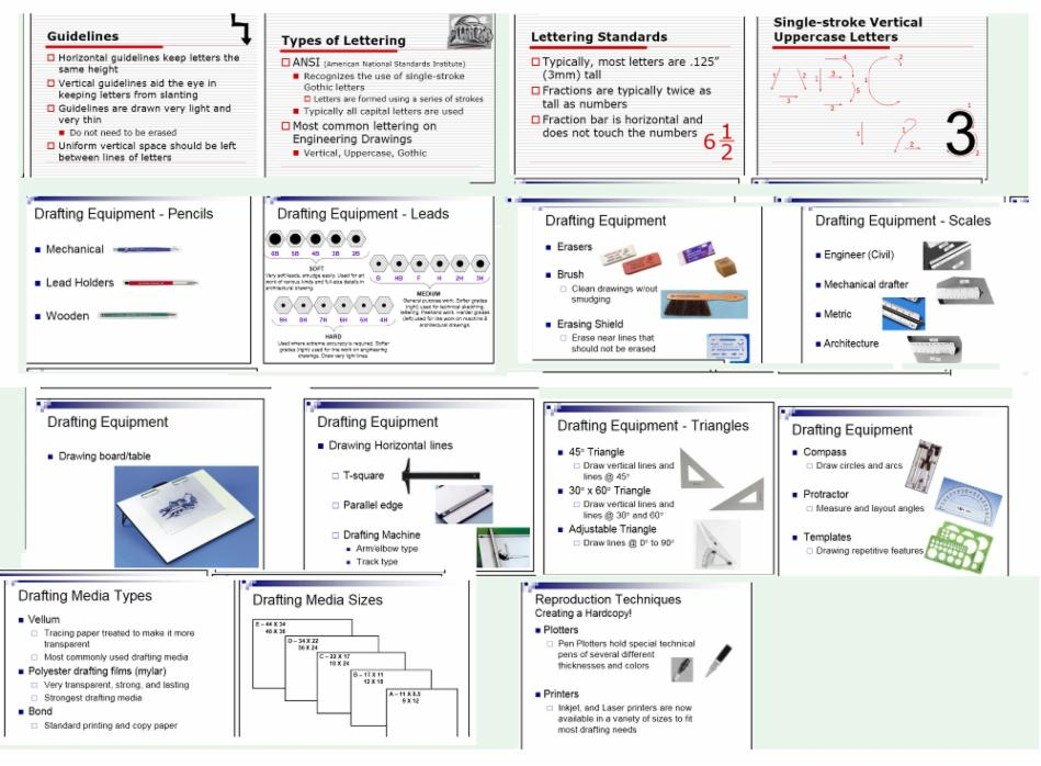 Dpowerpoint Images LeBizMe - Drafting equipment
